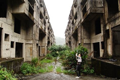 abandoned cities deserted places an abandoned building complex in taiwan