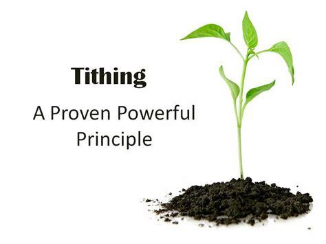 powerful benefits  tithing  world