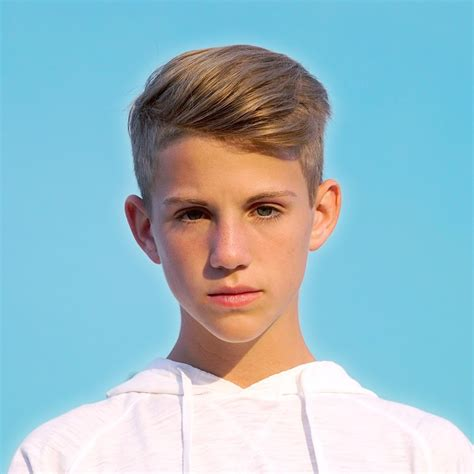 MattyB   long top, short sides   Boys hairstyles
