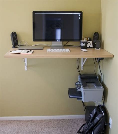 standing desk small space 6 diy standing desks desk shelves desks and petite