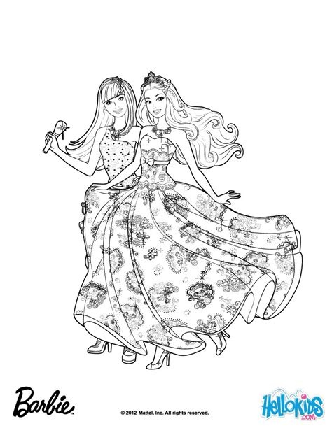 Friends Forever Music Coloring Pages Hellokids Com Popstar Coloring Pages
