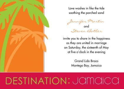 Wedding Invitation Jamaica by The 35 Best Images About Invitations On