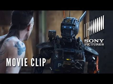 film robot gangster chappie movie clip quot real gangster quot youtube