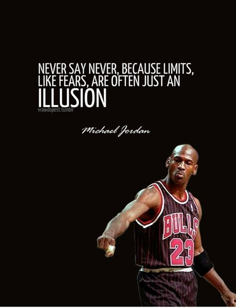 never say never michael quotes sayings pictures jpg