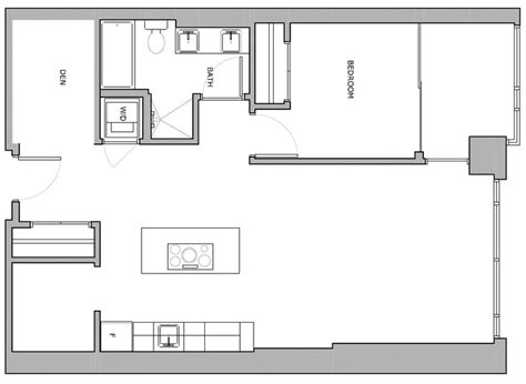 1 bedroom condo floor plans 17 best images about apartment design on pinterest 2nd