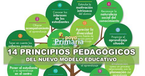 modelo educativo inicio principios pedag 243 gicos del nuevo modelo educativo apoyo