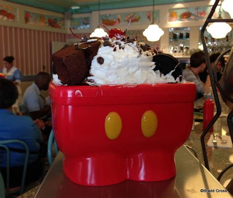 kitchen sink disney mickey kitchen sink sundae aka the mickey