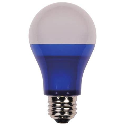 blue light bulbs home depot moonrays blue glass 4 watt wedge base replacement light
