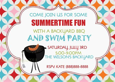 backyard party invitations backyard party invitation wording outdoor furniture design and ideas