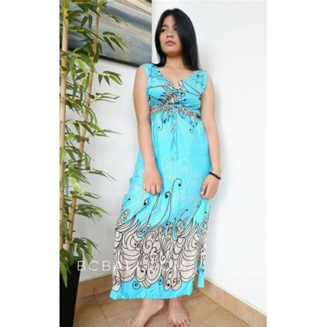 Dress Batik Handmade dress bali batik printing handmade clothing
