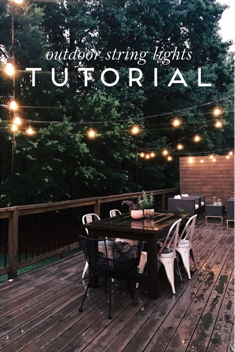hd designs outdoors string lights finest outdoor string light pole about how to install
