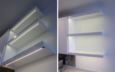 Led Shelf Lights by Kitchen Shelf Led Lighting Inspired Led