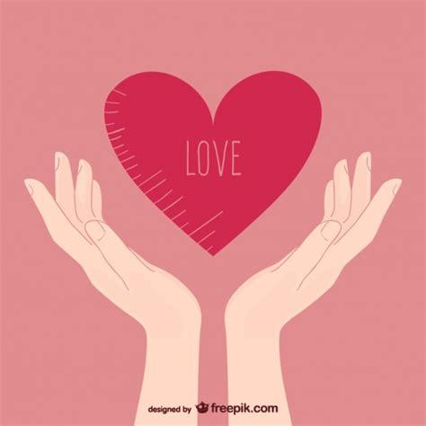 imagenes de i love you con las manos manos con coraz 243 n descargar vectores gratis