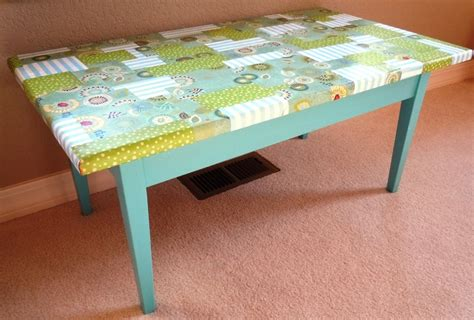 Decoupage Coffee Table - decoupage coffee table crafts