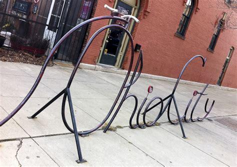 Artistic Bike Racks by Artistic Bike Racks In Cleveland Momentum Mag