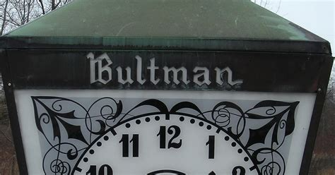 Clock Funeral Home by It S About Time The Bultman Funeral Home Clock