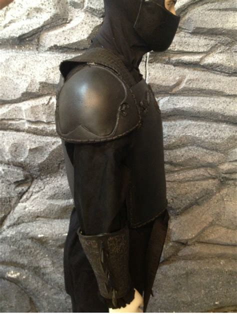 batman begins ninja armor batman dark knight league of shadows armor costume ninja