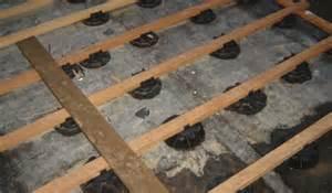 Bison Pedestal Wood Decking Wood Decking On Concrete Slab