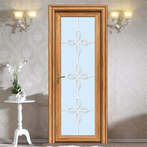 waterproof bathroom doors waterproof glass aluminum bathroom swing door buy