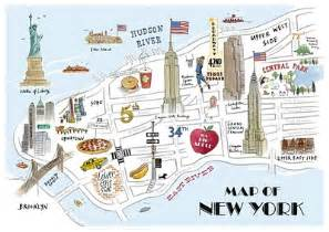 New York City Walking Map by Esl Resources New Sites January 2013 Part 2 Videos