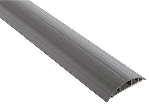 Barre De Seuil Passe Cable by Passage De Plancher Gris H 18 Mm L 75 Mm L 2 M Brico