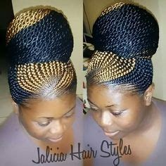carrot ponytail hairstyles ghana braids with senegalese twist by darlean thickyd