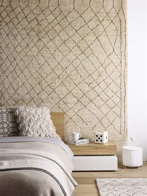 rug wall ten effective diy wall ideas decozilla