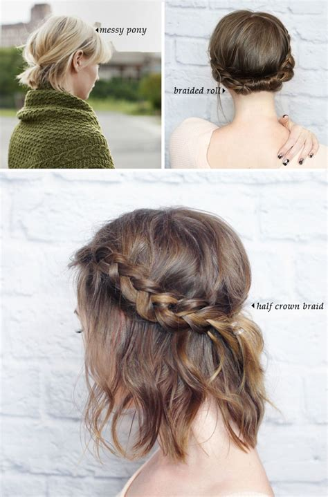 short braided style for babies short hair do s 10 quick and easy styles short hair