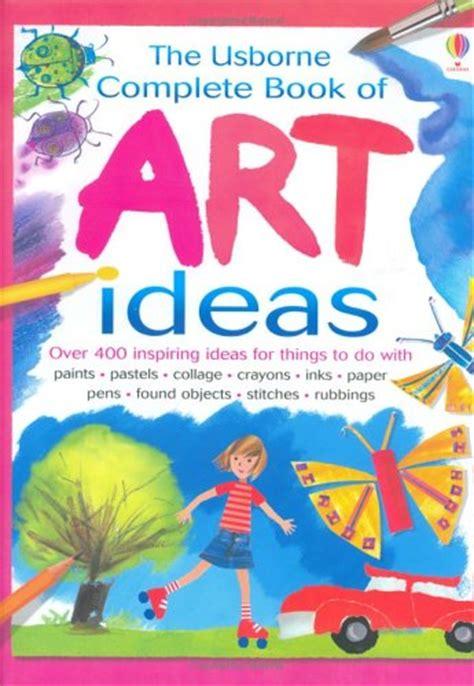 libro the usborne book of mini art projects usborne activity books hobby e tempo