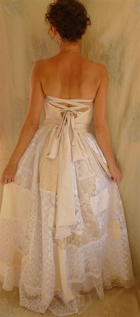 Patchwork Wedding Dress - 1000 ideas about corset dresses on corsets