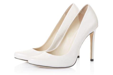 High Heel Brukat White white heels fs heel
