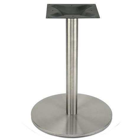 Metal Pedestal Table Base by Rfl540 Stainless Steel Table Base Rfl Series Table Bases Table Bases By Series Table Bases