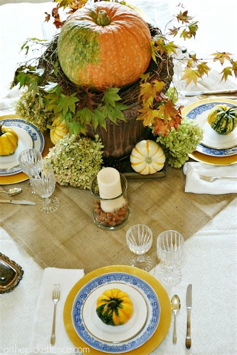 Nature Inspired Fall Decorating A Break Up At The Fall Dining Room Table Decorating Ideas