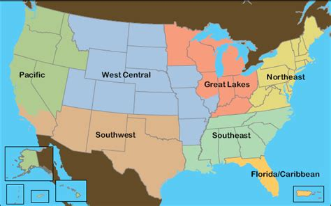 map of the united states broken into regions unit1project chapter 1 maps