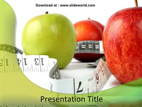 powerpoint templates free download healthy lifestyle healthy diet powerpoint ppt templates