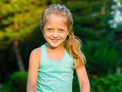 ponytail hairstyles for 8 year olds مدل های زیبای مو مخصوص دختر بچه ها بخش دوم