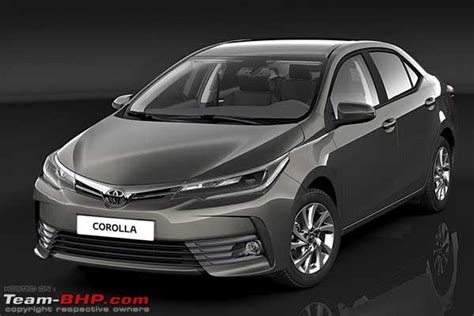 Link Stabil Corolla Altis Alphard toyota corolla altis facelift india launch in 2017 team bhp