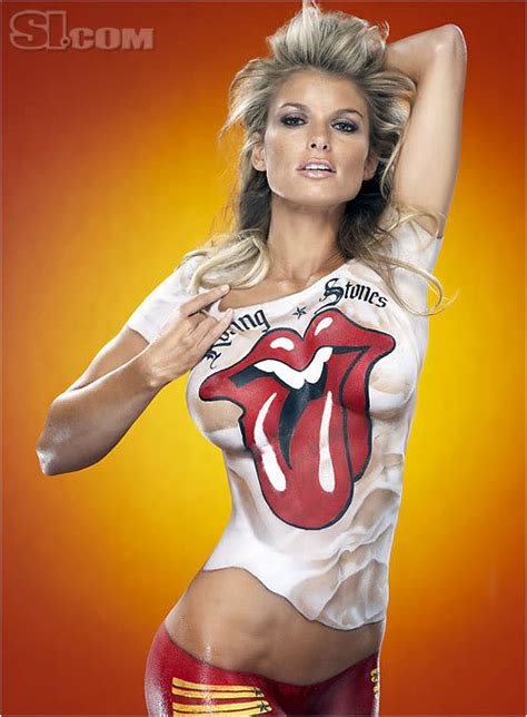 Marisa Miller Paint Pictures by Marisa Miller In Paint Does 2007 Sports Illustrated