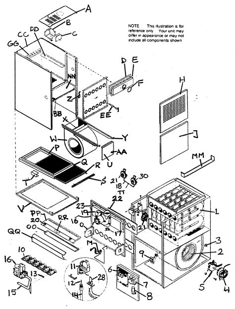 furnace parts diagram lincoln furnace parts seotoolnet