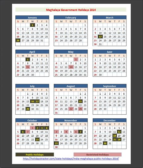 Calendar 2015 August Bank India Meghalaya India Holidays 2014 Holidays Tracker