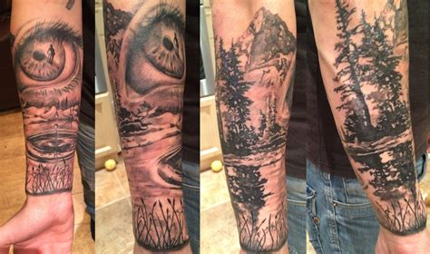 mountain tattoo sleeve mountain sleeve search tattoos