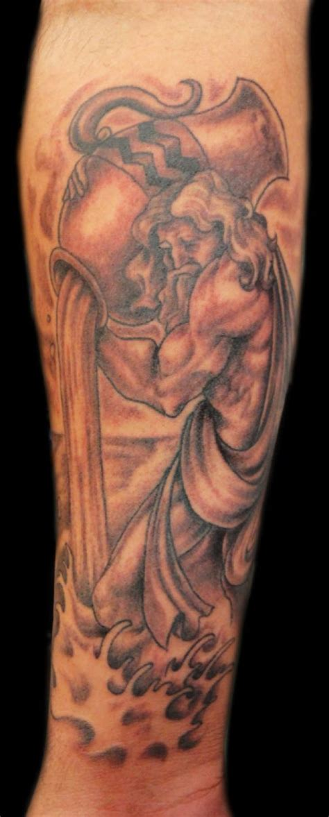 aquarius tattoos for men aquarius images designs