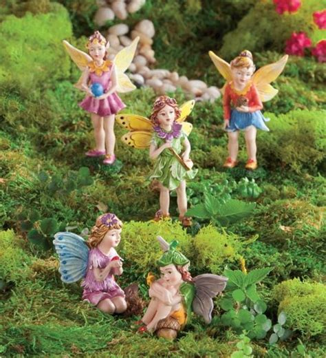 nature themed fairies fresh garden decor
