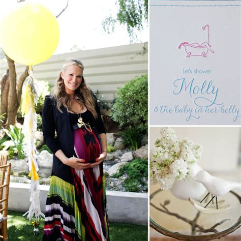 Sims 3 Baby Shower by Molly Sims Baby Shower Popsugar