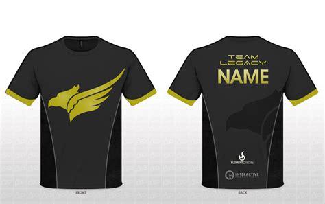 design a jersey shirt team legacy jersey design by ohmybrooke on deviantart