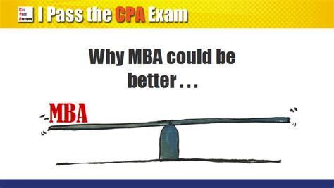 Cpa From Mba by Masters Degree Vs Cpa Which Is Better For My Career Prospect