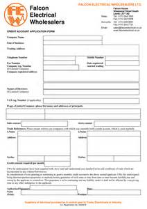 Account Application Form Template Word doc 595539 account form template doc595539 account