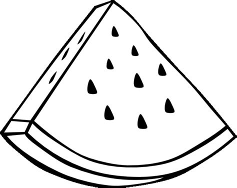watermelon slice coloring page fruit coloring pages 3 coloring pages to print