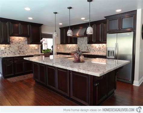countertops and backsplash combinations 17 best ideas about granite kitchen counters on pinterest
