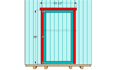 how to make a door how to build shed doors howtospecialist how to build step by step diy plans
